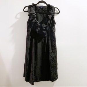 GAP Maternity Black Ruffle Dress Size Small